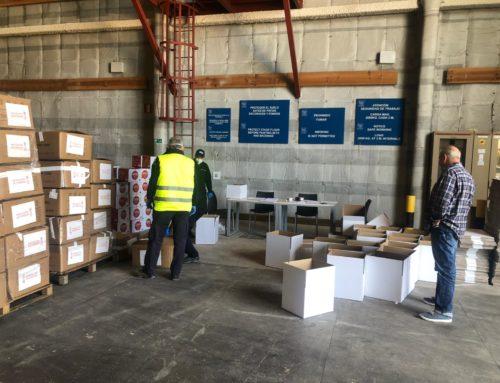 Ciudad de la Luz se convierte en centro logístico de abastecimiento sanitario ante el COVID-19