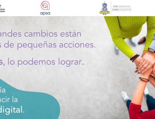 Districte Digital, Fundación everis i APSA treballen per a disminuir la bretxa digital en xiquets amb autisme