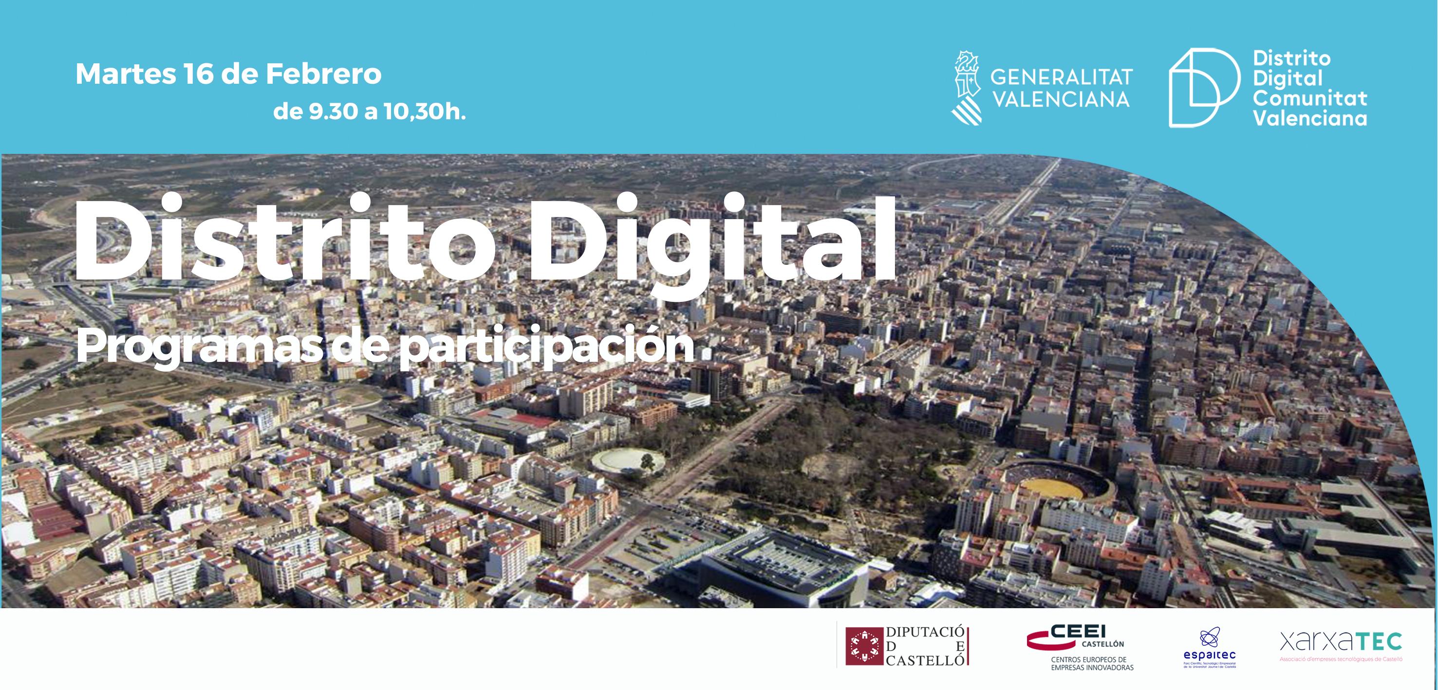 Distrito Digital presentación Castellón