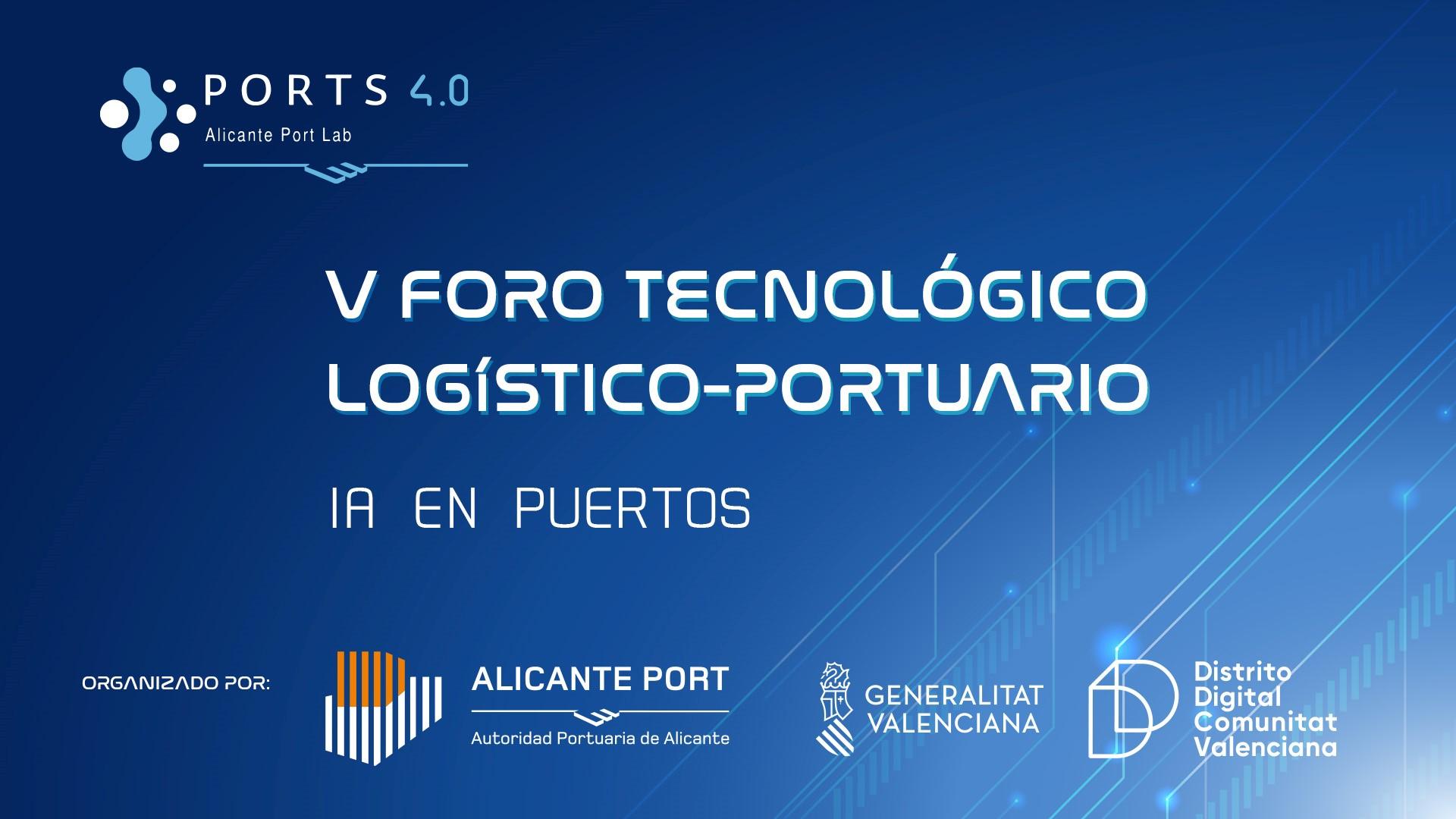 V Foro tecnológico IA en Puertos